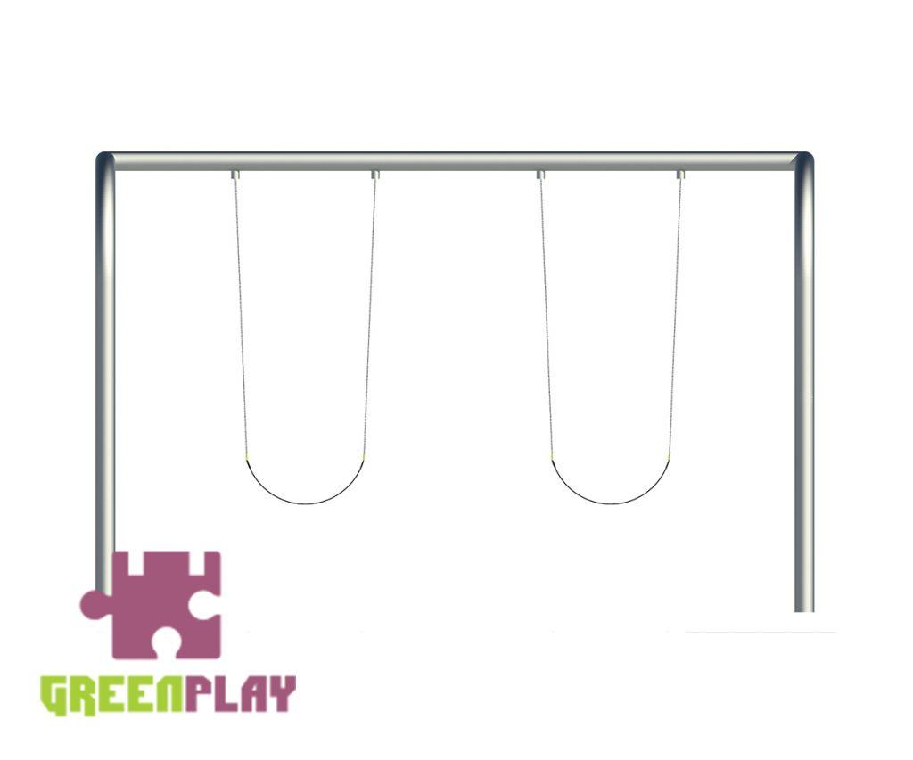 Green Play Swing - 4001