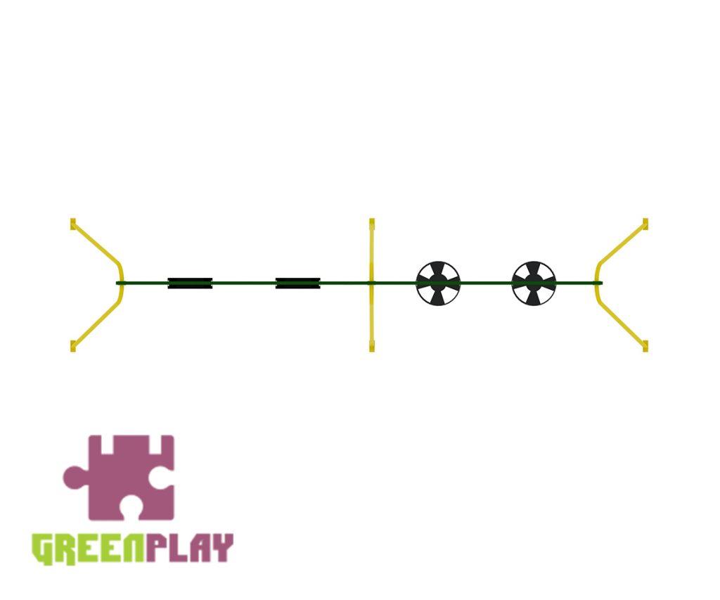 Green Play Swing - 4005