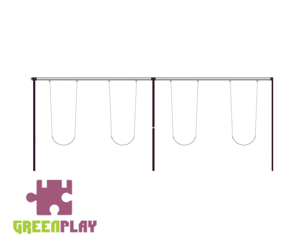 Green Play Swing - 4006